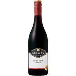 Photo of Selaks Premium Selection Pinot Noir 750ml