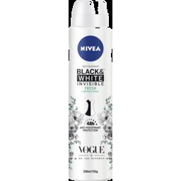 Photo of Nivea Invisible Black & White Fresh Aerosol Limited Edition 250ml