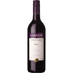 Photo of Corbans White Label Shiraz 750ml