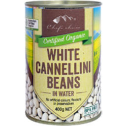 Photo of Chefs Choice Organics White Cannellini Beans 400g