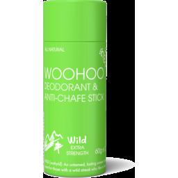 Photo of Woohoo Deodorant & Anti-Chafe Stick - Wild (Extra Strength)