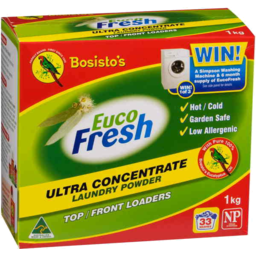 Photo of Bosistos Eucofresh Laundry Powder 1kg