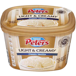 Photo of Nestle Peters Light & Creamy Classic Vanilla 1.8