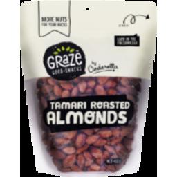 Photo of  Graze Tamari Roast Almonds 455g