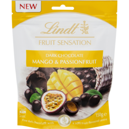 Photo of Lindt Fruit Sensation Mango & Passionfruit 150g