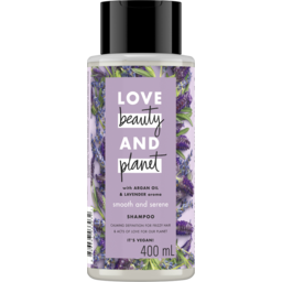 Photo of Love Beauty & Planet Argan Oil & Lavender Shampoo 400ml