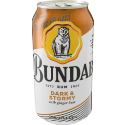 Photo of Bundaberg Dark & Stormy Can