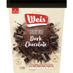 Photo of Weis Ice Cream Dairy Free Dark Chocolate 1l