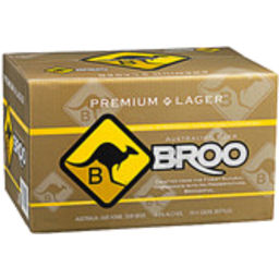 Photo of Broo Premium Lager Bottles