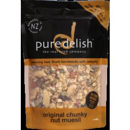 Photo of Puredelish Cereal Original Chunky Nut Muesli 500g
