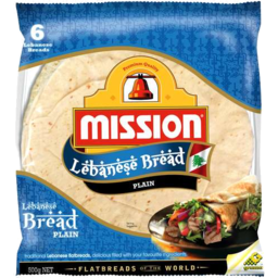 Photo of Mission Lebanese Bread Original 6pk