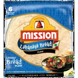 Photo of Mission Lebanese Bread Orig 6pk