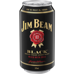 Photo of Jim Beam Black & Cola Can