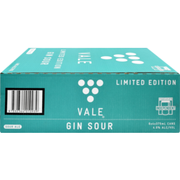 Photo of Vale Gin Sour 375ml 24 Pack