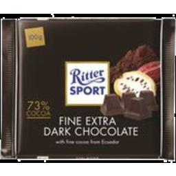 Photo of Ritter Chocolate Dark 100gm