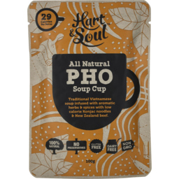 Photo of Hart & Soul All Natural Pho Soup Cup 100g