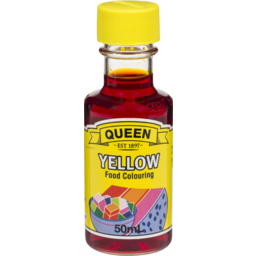 Photo of Queen Food Colour Yellow 50ml
