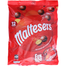 Photo of Maltesers Funsize 144g