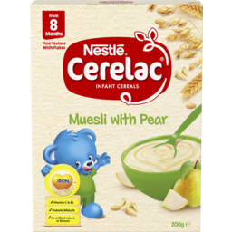 Photo of Nestle Cerelac Muesli With Pear Baby Cereal Stage 3 – 200g