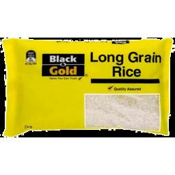 Photo of Black & Gold Long Grain Rice 2kg