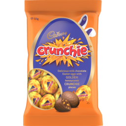 Photo of Cadbury Crunchie Chocolate Eggs Egg Bag 125 Gr