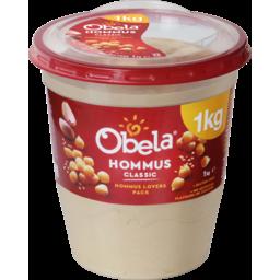 Photo of Obela Hommus Smooth Classic 1kg
