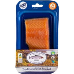 Photo of Woodbridge Hot Smoked Salmon Trad 150g