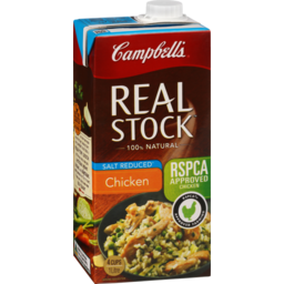 Photo of Campbell's Real Stock Chicken Stock Salt Reduced 1l