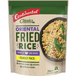 Photo of Continental Classic Oriental Rice Family Pack 180g Serves 5