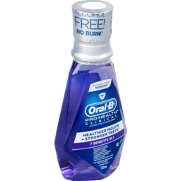 Photo of Oral-B Clinical Mouthwash Fluoride 7 Benefits Rinse 500ml 500ml