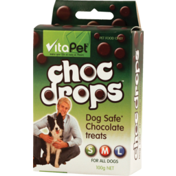 Photo of Vitapet Chocolate Drops 100g