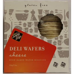 Photo of Simply Wize Deli Wafer Cheese 150g