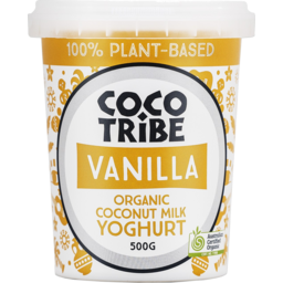 Photo of Coco Tribe Vanilla Organic Coconut Milk Yoghurt 500g