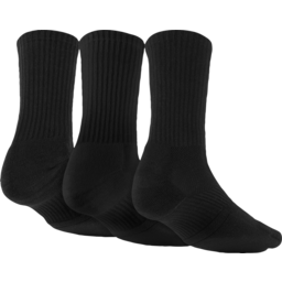 Photo of Worx Sock 3pk Black 7-11 Or 11-14