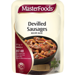 Photo of Masterfoods Devilled Sausages Recipe Base Sauce Pouch 175g