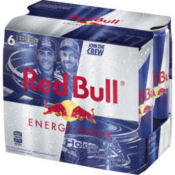 Photo of Red Bull Energy Drink 6 X 250ml Cans