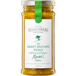 Photo of Beerenberg Sweet Mustard Pickles 265g