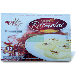 Photo of Apna Taste Rasmalai Kesar 850gm