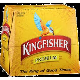 Photo of Kingfisher Lager 5% 12 x 330ml Bottles