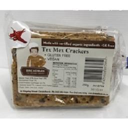 Photo of Breadman Tex Mex Crackers 250gm