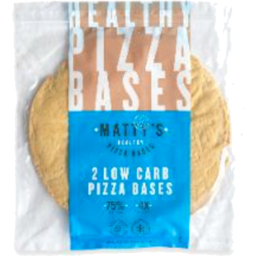 Photo of Matty's Pizza Bases - Low Carb (2 Pack)