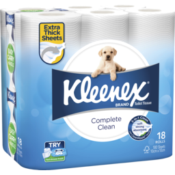 Photo of Kleenex Toilet Paper White 18pk