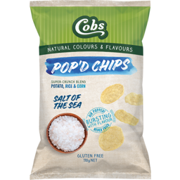 Photo of Cobs Pop'd Chips Salt of the Sea
