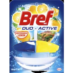 Photo of Bref Duo Active Mediterranean Lemon, Toilet Cleaner, 50ml