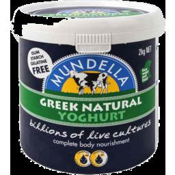 Photo of Mundella Foods Greek Natural 2kg