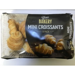 Photo of Your Bakery Crois Min 8pk160gm