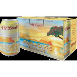 Photo of Mcleods Paradise Pale Ale 6x330