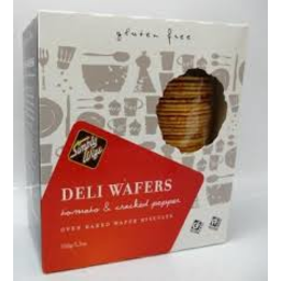 Photo of Simply Wize Deli Wafer Tomato & Cracked Pepper 150g