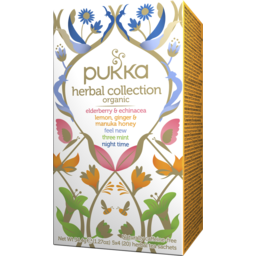 Photo of Pukka Herbal Collection 20s