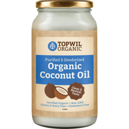 Photo of Topwill Organic Purified Coconut Oil 500ml